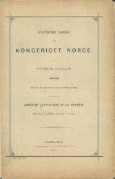 Statistisk Aarbog for kongeriket Norge 1899