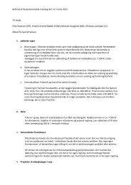 Referat af bestyrelsesmøde mandag den 12. marts 2012 Til stede ...