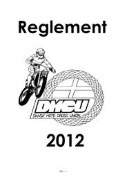 DMCU reglement 2012 - hampen mx