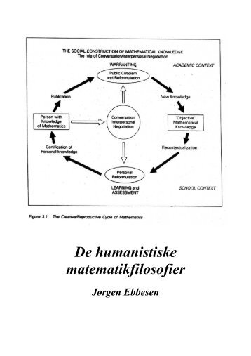 De humanistiske matematikfilosofier