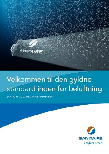 Sanitere Gold brochure Dansk - Water Solutions