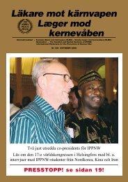 lmk106 okt2006 - Svenska Läkare mot Kärnvapen