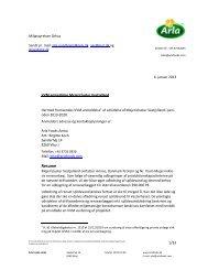 anmeldelse, Mejericluster Vestjylland - Miljøstyrelsen