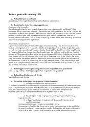 Referat generalforsamling 2008