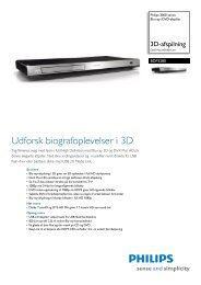 BDP3280/12 Philips Blu-ray-/DVD-afspiller - Lomax
