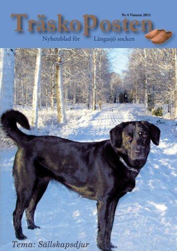 Nr 4, Tema Sällskapsdjur - Träskoposten