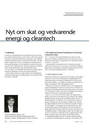 Nyt om skat og vedvarende energi og cleantech - Corit Advisory