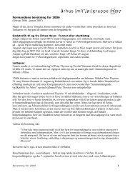 Bestyrelsens beretning for 2005 - Århus Miljøgruppe M97