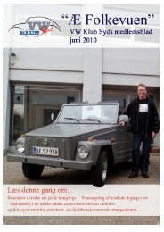 Æ' Folkevuen Juni 2010 - VW klub syd