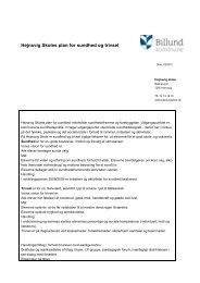 100902 Hejnsvig Skoles plan for sundhed og trivsel