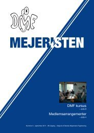 Mejeristen 3 2011 - Danske Mejeristers Fagforening