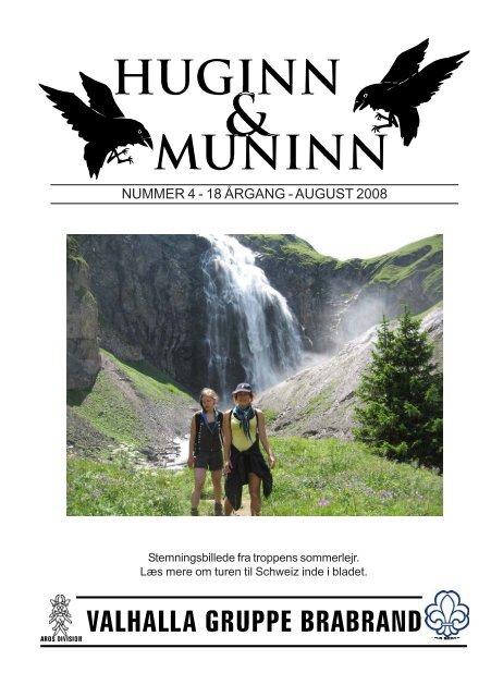 NUMMER 4 - 18 ÅRGANG - AUGUST 2008
