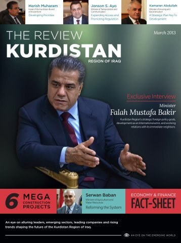 The Review – Kurdistan Region of Iraq (March 2013 - Invest in Group
