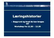 Læringshistorier - mitBUF.dk