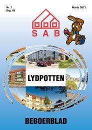 LYDPOTTEN BEBOERBLAD - Sønderborg Andelsboligforening