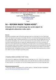 su - reform er ingen