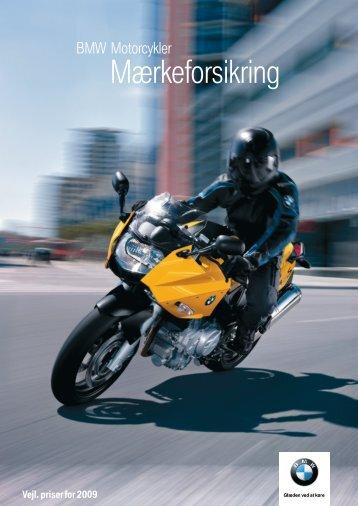 Mærkeforsikring - BMW MC Klub Danmark