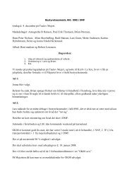 Bestyrelsesmøde.04-12-07