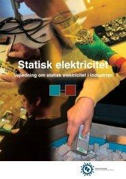 Hent Statisk elektricitet - Industriens Branchearbejdsmiljøråd