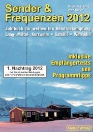 Sender & Frequenzen 2012 - 1. Nachtrag