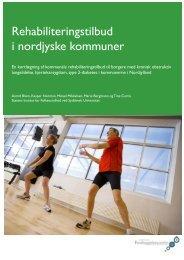 Rehabiliteringstilbud i nordjyske kommuner