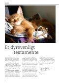ET DYREVENLIGT TESTAMENTE - Dyrefondet - Page 4