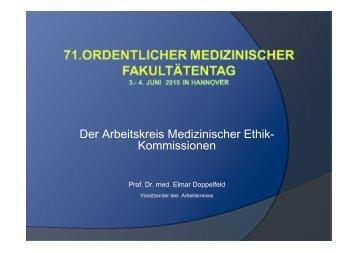 Doppelfeld - Medizinischer Fakultätentag