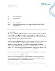 1. Indledning Fra og med 1. oktober 2011 skabes der på landsplan ...