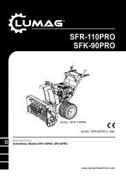 SFR-110PRO SFK-90PRO - Matom