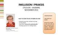 INKLUSION I PRAKSIS