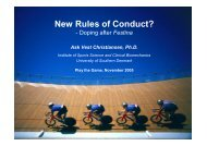 Ask Vest Christiansen - New Rules of conduct II - Play the Game