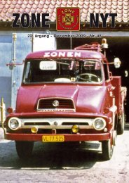 22. årgang - December 2009 - Nr. 48 - Zone-Redningskorpsets