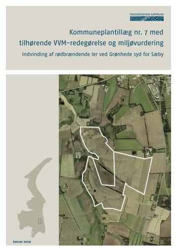 Kommuneplantillæg nr. 7 med tilhørende VVM-redegørelse og ...