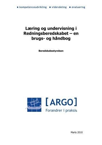 Læring og undervisning i Redningsberedskabet - Konsulentfirmaet ...