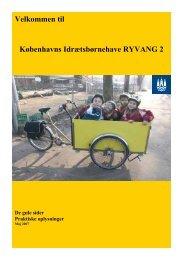 Velkommen til Københavns Idrætsbørnehave RYVANG 2