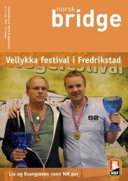 Vellykka festival i Fredrikstad - Norsk Bridgeforbund