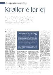 Hypochlorsyrling - Aktuel Naturvidenskab