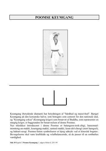 Poomse - keumgang - nr 2 - Slagelse Taekwondo klub