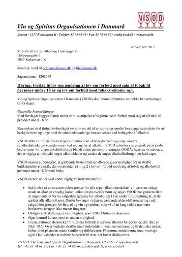 Vin og Spiritus Organisationen i Danmark - Net