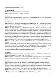 Vedtægter pr. 21. november 2012 - Andelsboligforeningen RO-AD
