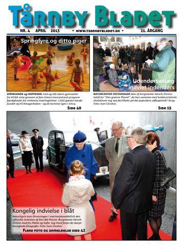 Kongelig indvielse i blåt - Tårnby Bladet