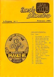 1987 – Blad 1 - Danske Ølsamlere