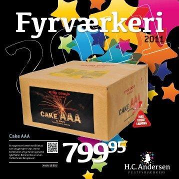 Cake AAA - fyrvaerkerifabrik.dk