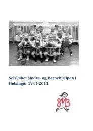 Download SMB's historie - Selskabet Mødre og Børnehjælpen i ...