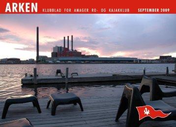 arken klubblad for amager ro- og kajakklub september 2009