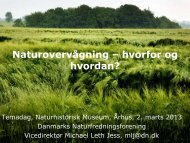 Naturovervågning – hvorfor og hvordan?