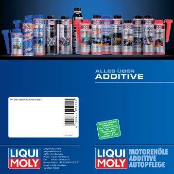 alles über additive - Schuch Baustoff-Fachhandel