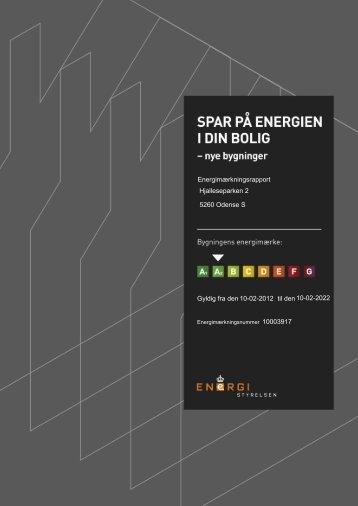 Energimærkningsrapport Gyldig fra den til den ... - Skibhusparken
