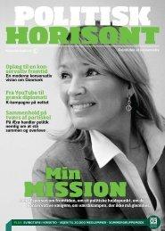 Politisk Horisont nr. 3 2010 - Konservative.dk