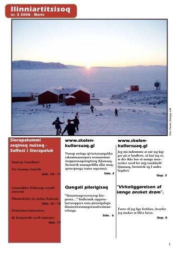 Marts 2008 Ilinniartitsisoq - Lærernes fagforening i Grønland